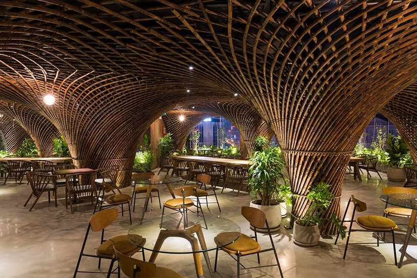 VTN architects bamboo club