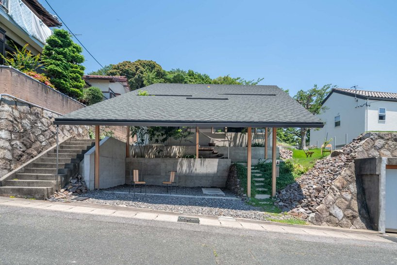 front view of the house by takayuki suzuki architecture atelier