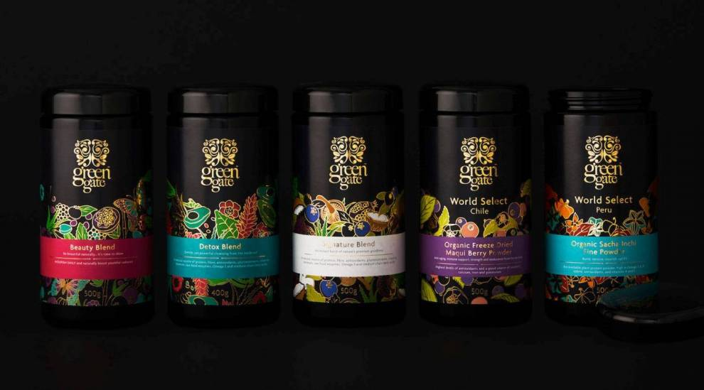 Green Gate London Colorful Package Designs